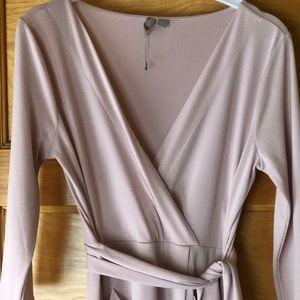 REPOSH ASOS Blush Faux Wrap Dress